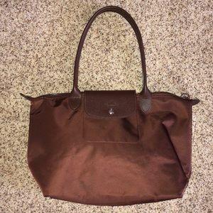 Longchamp brown purse/tote